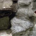 Wasserfall aus Styropor