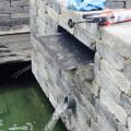 Wasserfallrinne